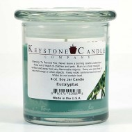 8oz Eucalyptus Jar Candle