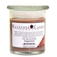8oz Gingerbread Jar Candle