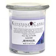 8oz Lavender Jar Candle