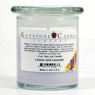 8oz Lemon & Lavender Jar Candle