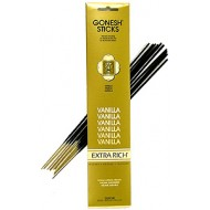Gonesh Extra Rich Vanilla Incense Sticks